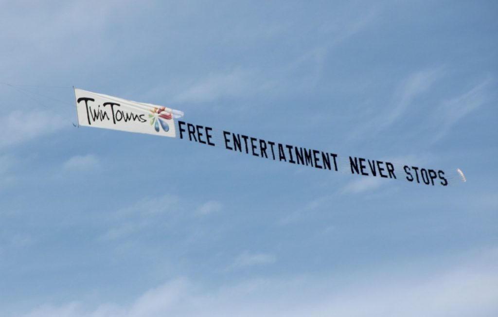 twin-towns-aerial-billboard-free-entertainment