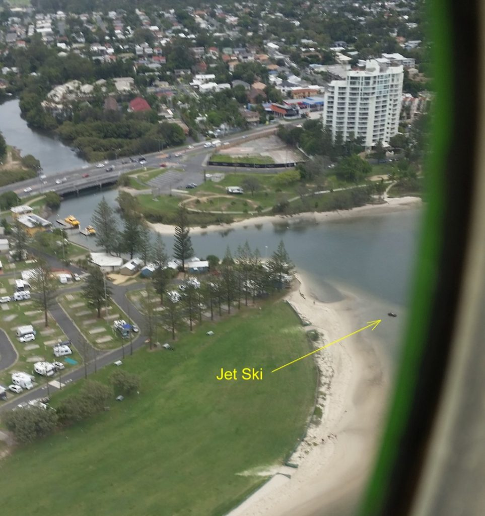 Jet-Ski-in-the-broadwater ready for a Gold Coast Surprise Marriage Proposal