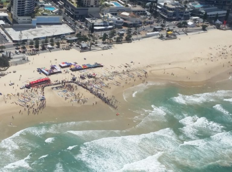 surf carnivals on any beach adds to SKY-ADS reach