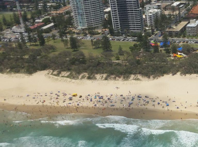 Broadbeach. Gold Coast, immensely popular