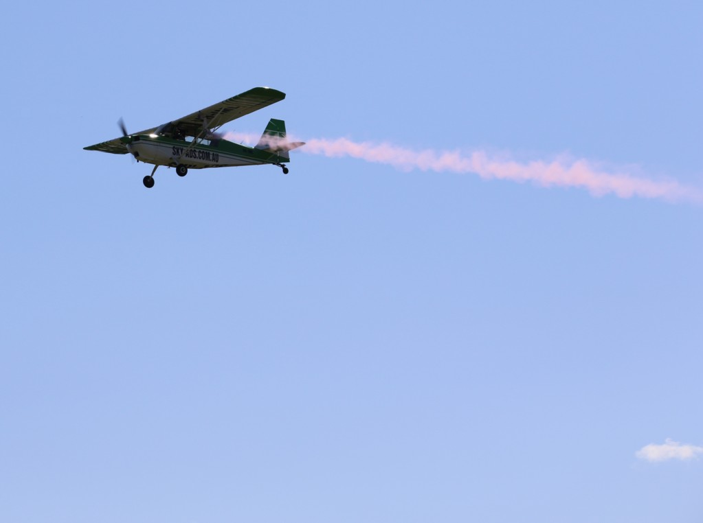 Aircraft Scattering Ashes