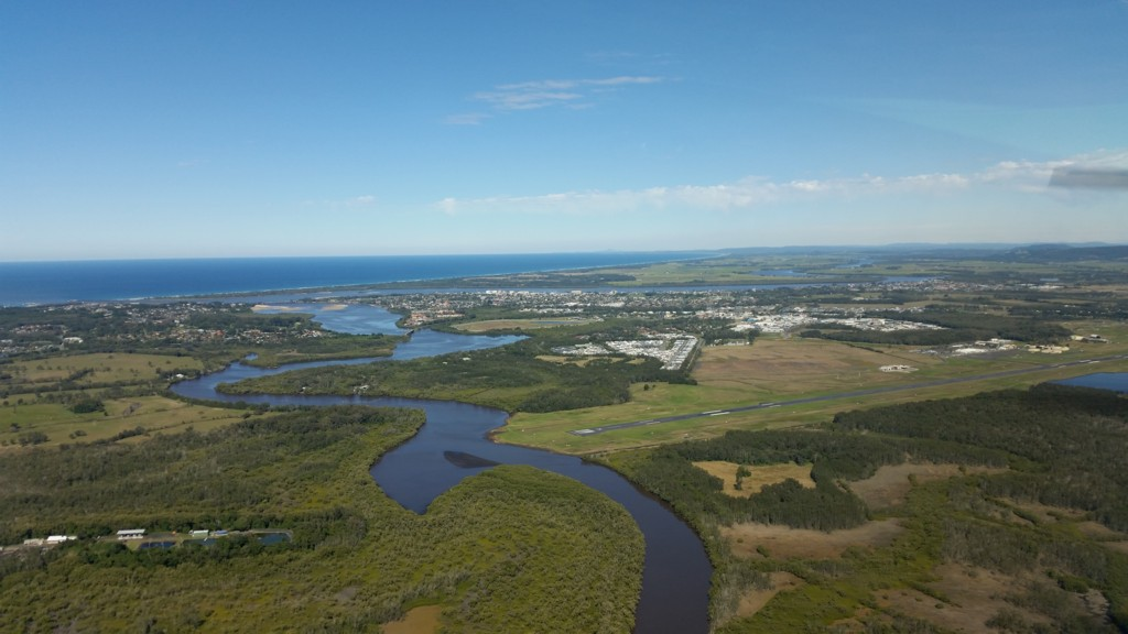 Aerial Picture of Ballina NSW