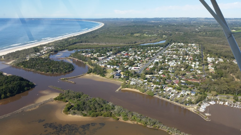 Aerial Picture of Brunswick Heads NSW