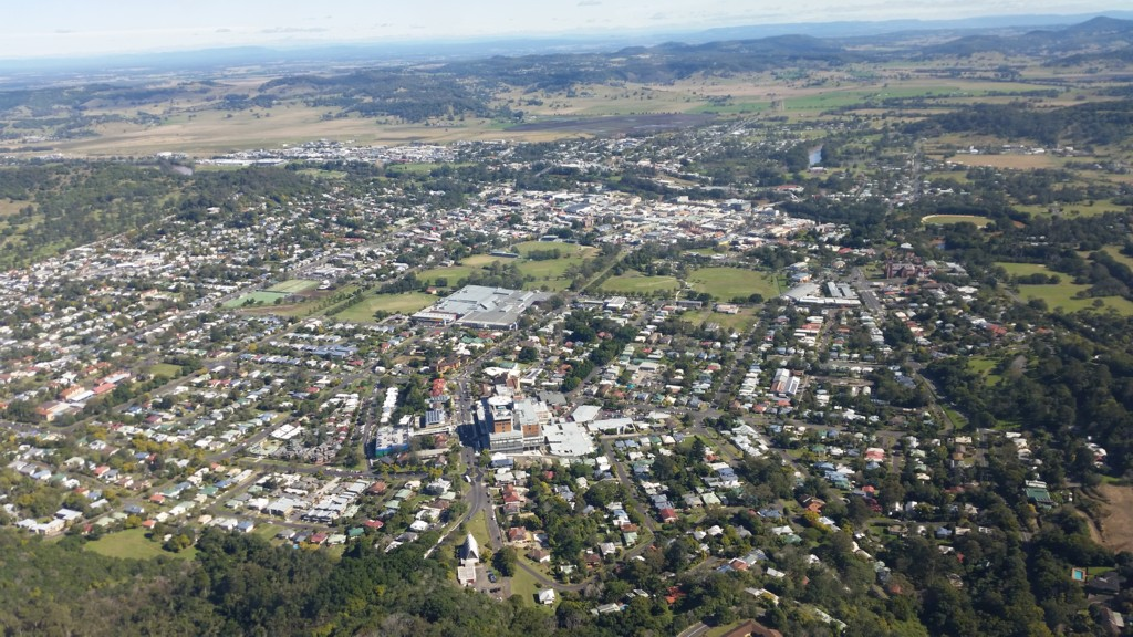 Aerial Picture of Lismore NSW