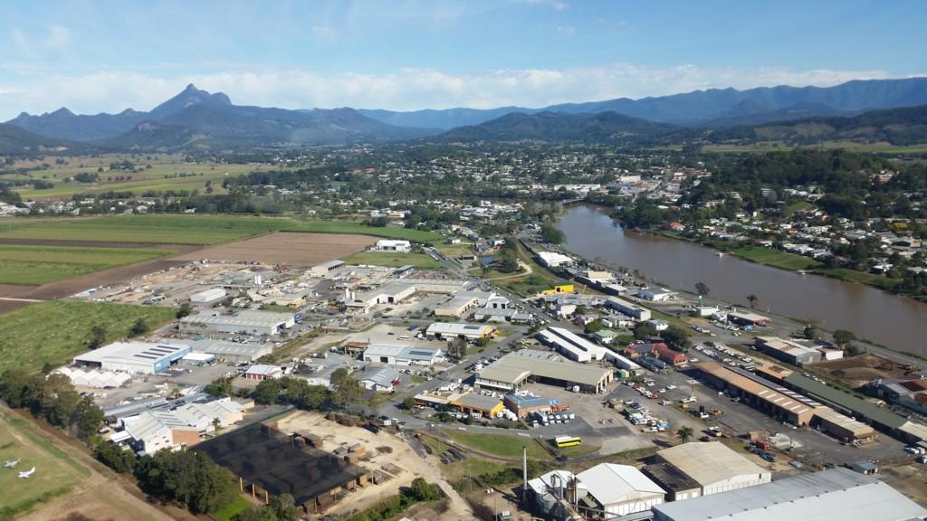 Aerial Picture of Murwillumbah NSW