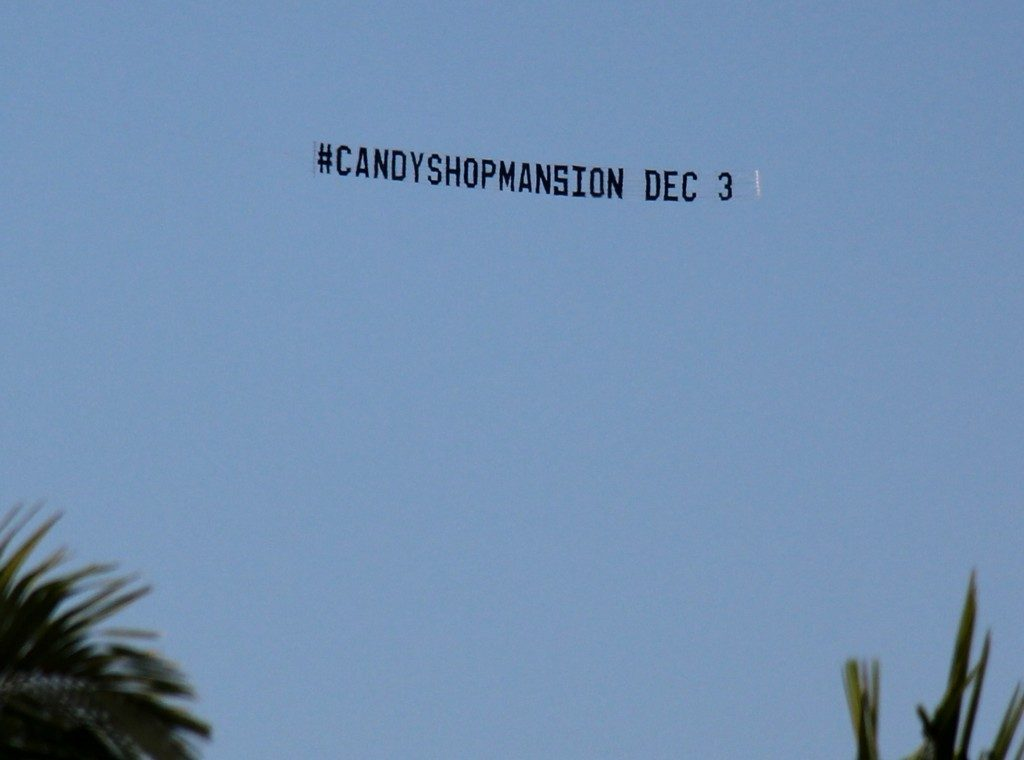 candyman party promotion shown